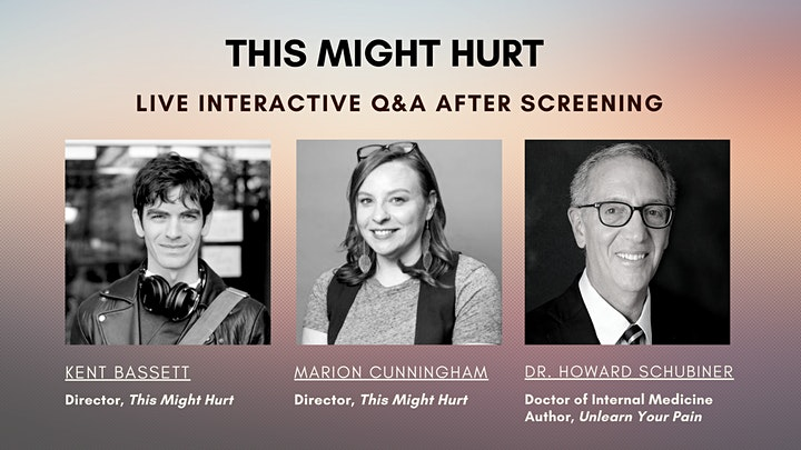 THIS MIGHT HURT | Live Virtual Screening + Q&A image
