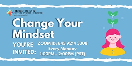 Change Your Mindset tickets