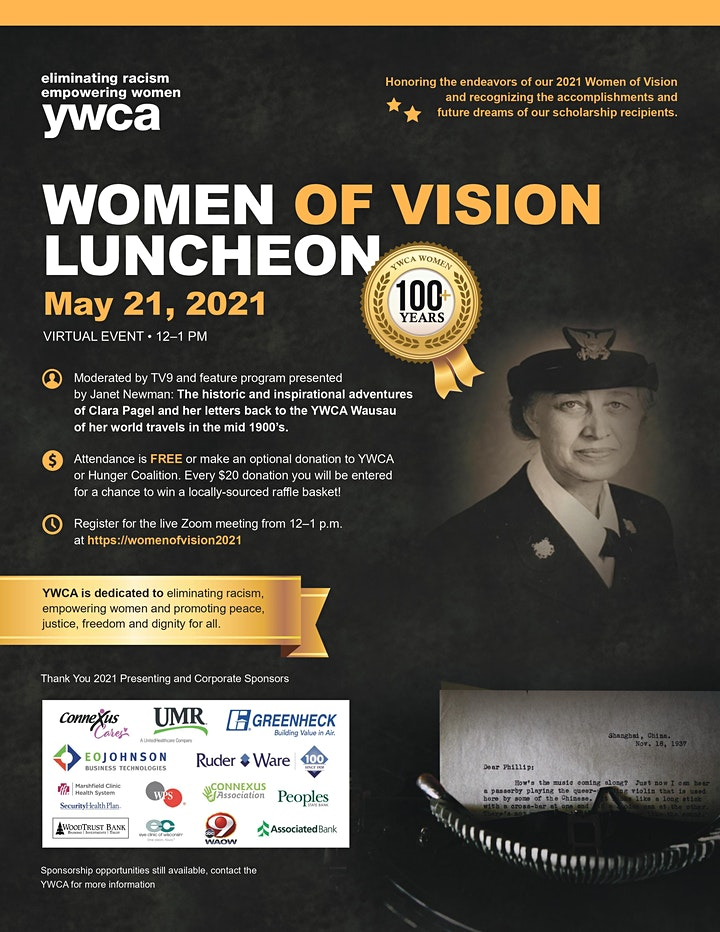 Women of Vision 2021 (Virtual) image