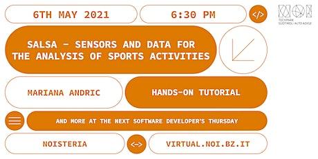 Software Developers' Thursday - Hands-on tutorial: SALSA biglietti
