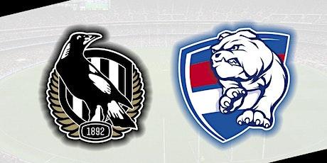 StREAMS@>! r.E.d.d.i.t-Collingwood v Bulldogs LIVE ON 19 Mar 2021 tickets