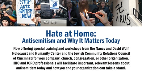 Hate at Home: Antisemitism and Why It Matters Today tickets