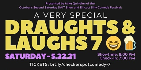 Draughts & Laughs -Special Event at Checkerspot Brewing Co. - Shane Torres tickets