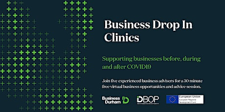 Business Drop In Clinic 22nd April 2021 tickets