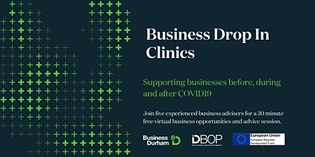 Business Drop In Clinic 13th May tickets