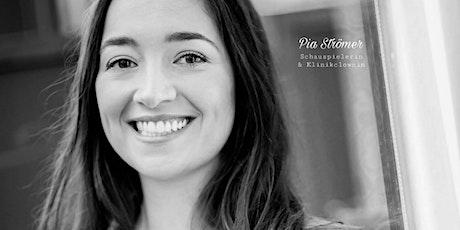 Dein Glückstraining mit Schauspielerin und Klinikclownin Pia Strömer Tickets