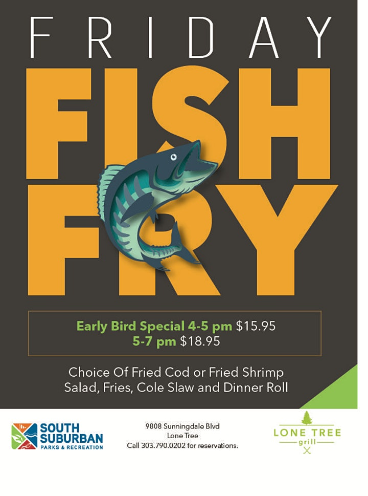 Lone Tree Grill Friday Fish Fry image