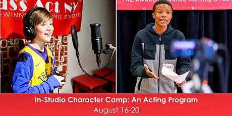 In-Person Character Camp: An Acting Program tickets
