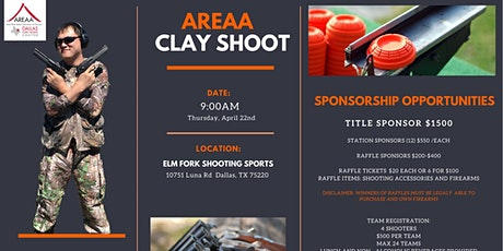 AREAA DFW - Charity Clay Shoot Tournament 2021 tickets