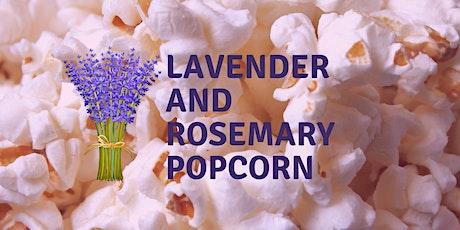 Spring Floral Popcorn Pickup tickets
