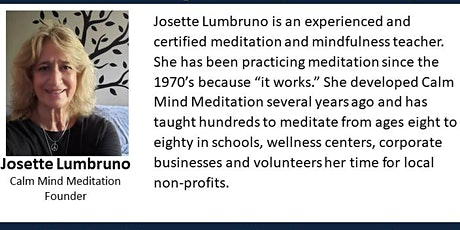 Bloomfield Business Networking  with Josette Lumbruno [via Zoom Meeting] tickets
