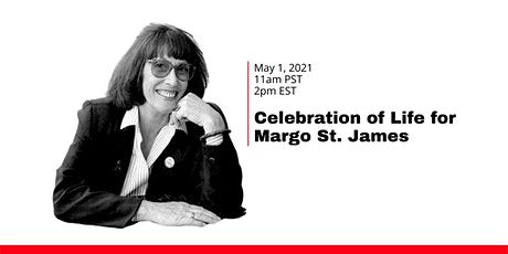 Celebration of Life for Margo St. James tickets