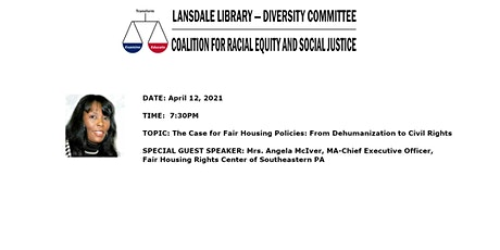 The Case for Fair Housing Policies: From Dehumanization to Civil Rights tickets