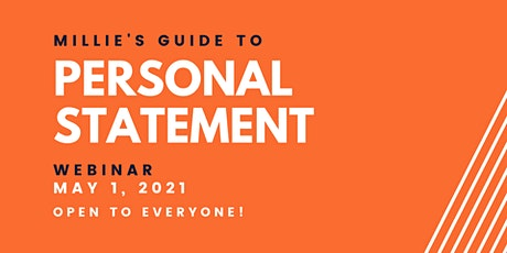 WEBINAR | Millie's Guide to Personal Statement tickets
