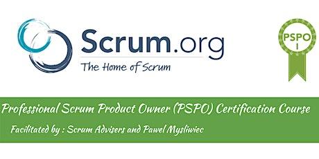 Professional Scrum Product Owner (PSPO) Workshop billets