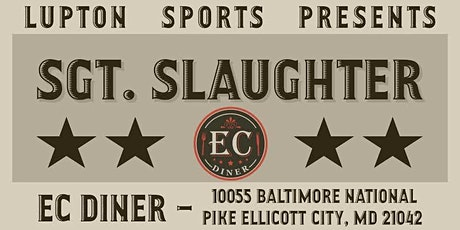 Sergeant Slaughter Public Autograph Signing tickets