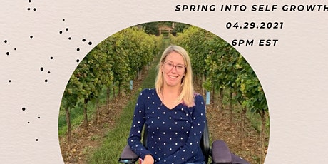 Spring into Self Growith - Jessica Keogh tickets