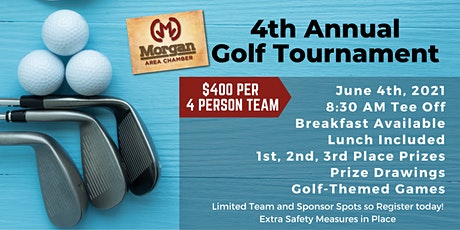 2021 Annual Golf Tournament by Morgan Area Chamber of Commerce tickets