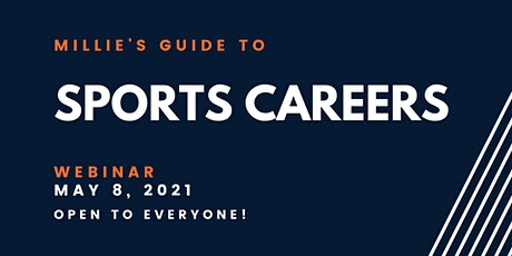 WEBINAR | Millie's Guide to Sports Careers tickets