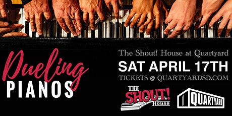 The Shout! House Dueling Pianos at Quartyard - *MATINEE* tickets