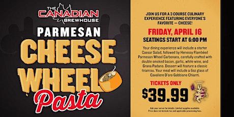 Cheese Wheel Pasta Night (Airdrie) tickets