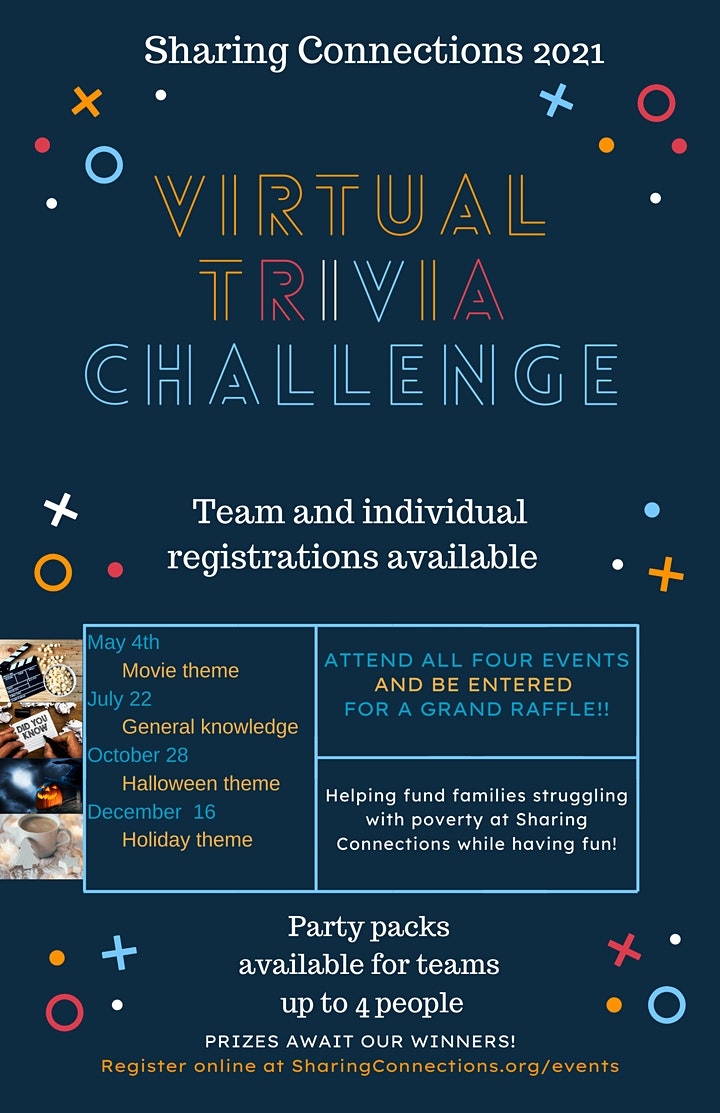 2021 Virtual Trivia Challenge by Sharing Connections image