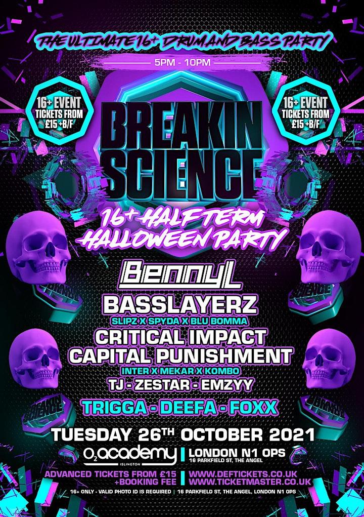 Breakin Science 16+ Halloween Half Term Party image