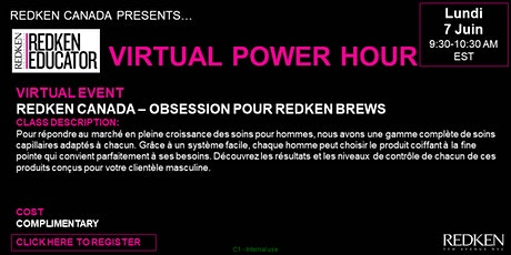 REDKEN CANADA - OBSESSION POUR REDKEN BREWS tickets
