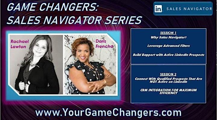 Series:  Game Changers - Sales Navigator image