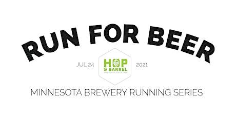 Beer Run - Hop & Barrel Brewing Co | 2021 MN Brewery Running Series tickets