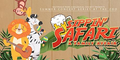 Sippin' Safari at the Idaho Falls Zoo - Concert Series tickets
