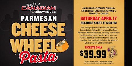 Cheese Wheel Pasta Night (Red Deer) tickets