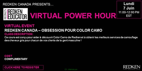REDKEN CANADA - OBSESSION POUR COLOR CAMO tickets