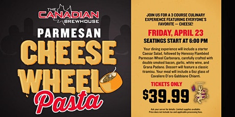 Cheese Wheel Pasta Night (Chestermere) tickets