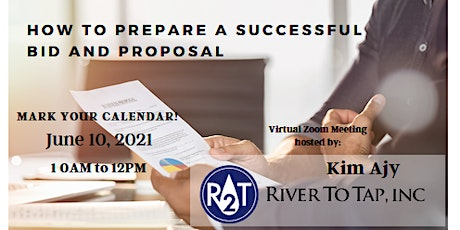 How to Prepare a Successful Bid and Proposal tickets
