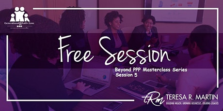 Beyond PPP Masterclass Series tickets
