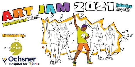ART JAM Kit Registration | Presented by Ochsner Hospital for Children tickets
