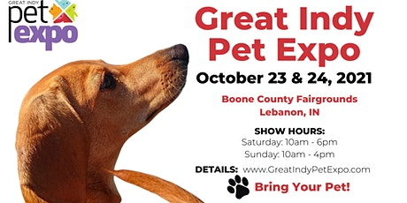 Great Indy Pet Expo – October 23 & 24, 2021 tickets