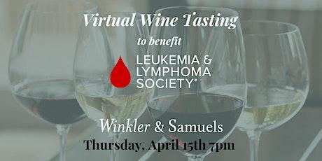 Virtual Wine to benefit Leukemia & Lymphoma Society tickets