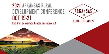 2021 Arkansas Rural Development Conference tickets
