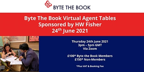 Byte The Book Virtual  Agents Tables (June 2021) Sponsored by HW Fisher tickets