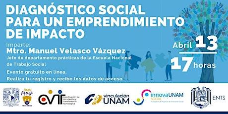 Diagnóstico social para un Emprendimiento de impacto entradas
