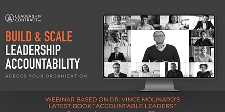 Build & Scale Leadership Accountability - April 2021 tickets