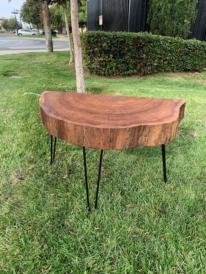 DIY Hairpin Leg Tables Workshop image