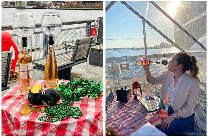 """SUNDAYS: """"SPRING FLING"""" ON THE PIER! VIP """"GLASSHOUSES"""" & OUTDOOR SEATING image"""