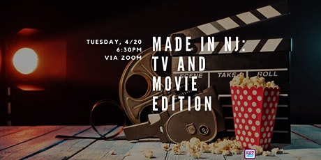 Made in NJ: TV and Movie Edition tickets