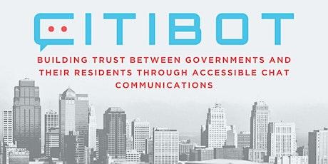 Citibot Demo: Modern Citizen Engagement + Customer Service during COVID-19 biglietti