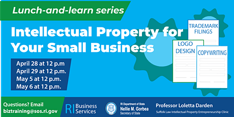 Intellectual Property for Your Small Business tickets