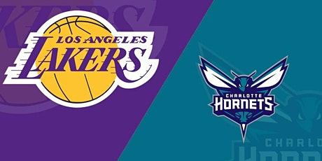 LIVE@!!..@ New Charlotte Hornets v Los Angeles Lakers LIVE ON fReE 2021 tickets