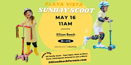 Silicon Beach Parents Group | Playa Vista Sunday Scoot | May 16, 2021 tickets